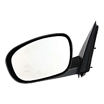 Mirror Non-folding Non-Heated - Driver Side, Power Glass, Textured Black