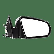 Mirror - Passenger Side, Power, Paintable, For Sedan