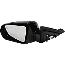 Mirror - Driver Side, Power, Heated, Paintable, For Convertible
