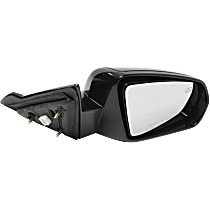 Mirror - Passenger Side, Power, Heated, Paintable, For Convertible