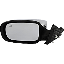 Mirror - Driver Side, Chrome