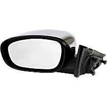 Mirror Non-folding Heated - Driver Side, Power Glass, Chrome