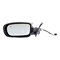 Mirror - Driver Side, Power, Heated, Chrome
