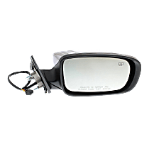 Mirror - Passenger Side, Power, Heated, Chrome