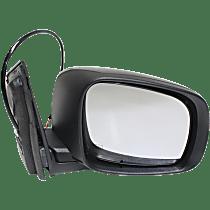 Mirror Manual Folding Heated - Passenger Side, Power Glass, Textured Black