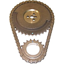 Timing Chain - Steel, Direct Fit, Sold individually