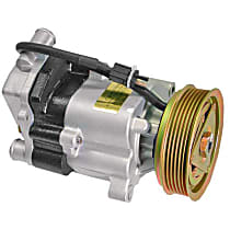 C&M Hydraulics CM213 Secondary Air Injection Pump with Clutch (Rebuilt) - Replaces OE Number 104-140-14-85 81
