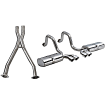 14111CB Xtreme Series - 1997-2004 Chevrolet Corvette Cat-Back Exhaust System - Made of 304 Stainless Steel