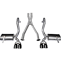Corsa - 1997-2004 Chevrolet Corvette Cat-Back Exhaust System - Made of Stainless Steel