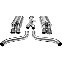 14115 Sport Series - 1986-1991 Chevrolet Corvette Cat-Back Exhaust System - Made of Stainless Steel