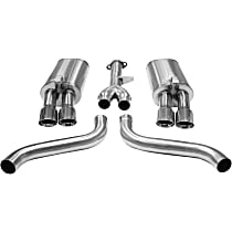 Corsa - 1986-1991 Chevrolet Corvette Cat-Back Exhaust System - Made of Stainless Steel