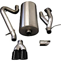 Corsa Sport - 2003-2006 Hummer H2 Cat-Back Exhaust System - Made of Stainless Steel