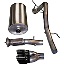 Corsa Sport - 2007-2010 Cat-Back Exhaust System - Made of Stainless Steel