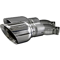 14346 Exhaust Tip - Polished, Stainless Steel, Direct Fit, Set of 2