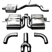 14509 Sport Series - Audi Cat-Back Exhaust System - Made of Stainless Steel