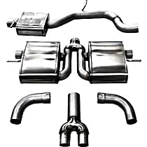 Corsa Sport - Audi Cat-Back Exhaust System - Made of Stainless Steel