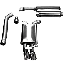 Corsa Touring - 2009-2014 Audi Cat-Back Exhaust System - Made of Stainless Steel