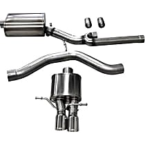 Corsa Sport - 2000-2002 Audi S4 Cat-Back Exhaust System - Made of Stainless Steel