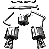 Corsa Sport - 2010-2014 Audi Cat-Back Exhaust System - Made of Stainless Steel