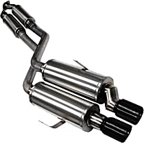 14553BLK Sport Series - 1992-1999 BMW Cat-Back Exhaust System - Made of Stainless Steel