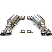 14556 Sport Series - 2005-2010 BMW Axle-Back Exhaust System - Made of Stainless Steel