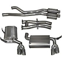 14567 Sport Series - 2001-2006 BMW M3 Cat-Back Exhaust System - Made of Stainless Steel