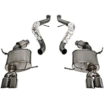 14568 Sport Series - 2008-2012 BMW M3 Cat-Back Exhaust System - Made of Stainless Steel