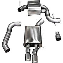 14598 Touring Series - 2006-2009 Volkswagen Jetta Cat-Back Exhaust System - Made of Stainless Steel