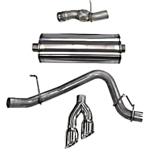 Corsa Sport - 2015-2018 Cat-Back Exhaust System - Made of Stainless Steel