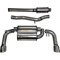 14858 Sport Series - 2008-2015 Mitsubishi Lancer Cat-Back Exhaust System - Made of Stainless Steel
