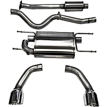 Corsa - 2013-2017 Cat-Back Exhaust System - Made of Stainless Steel
