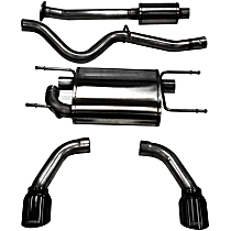 14864BLK Sport Series - 2013-2019 Cat-Back Exhaust System - Made of Stainless Steel