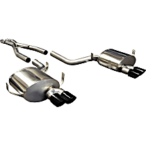 14931BLK Sport Series - 1998-2003 BMW Cat-Back Exhaust System - Made of Stainless Steel