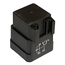 Relay - Radiator Fan Relay, Direct Fit, Sold individually