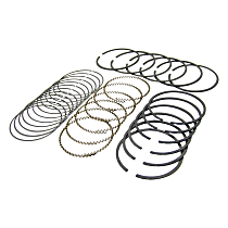 Crown 4720653020 Piston Ring Set - Direct Fit, Set of 6