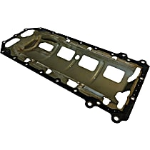 Oil Pan Gasket - Metal, Direct Fit, Sold individually