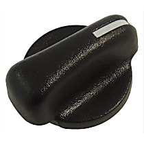 A/C Control Knob - Black, Plastic, Direct Fit, Sold individually