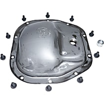 Crown 5012842AA Differential Cover - Natural, Steel, Direct Fit, Sold individually
