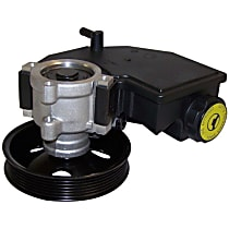 5080551AC Power Steering Pump - With Pulley, With Reservoir
