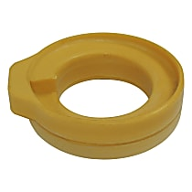 Coil Spring Insulator - Yellow, Rubber, Direct Fit, Sold individually