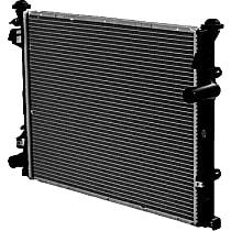 Aluminum Core Plastic Tank Radiator, 18.5 x 22.5 x 5.94 in. Core Size