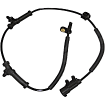 5154230AD Rear, Driver or Passenger Side ABS Speed Sensor - Sold individually