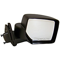 Passenger Side Non-Heated Mirror - Manual Glass, Manual Folding, Paintable