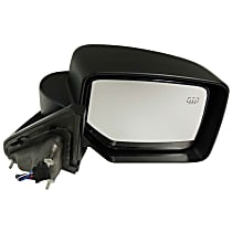 Passenger Side Heated Mirror - Power Glass, Power Folding, Paintable