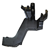 Radiator Mount - Black, Plastic, Direct Fit, Sold individually