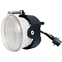 Front, Driver or Passenger Side Fog Light, Without bulb(s)