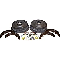 Crown 52001151K Brake Shoe Set - Direct Fit