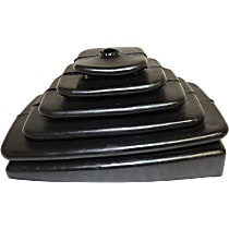 52078558 Shift Boot - Black, Rubber, Direct Fit, Sold individually