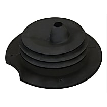 52078970AC Shift Boot - Black, Rubber, Direct Fit, Sold individually