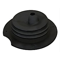Crown 52078970AC Shift Boot - Black, Rubber, Direct Fit, Sold individually